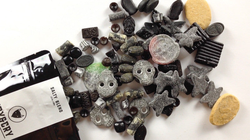 15 different salty licorice types and a good start into 2016