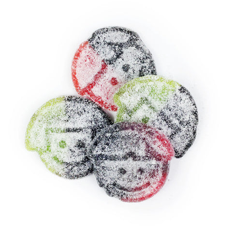 Salta Twins Swedish Strawberry Green Apple Salty Licorice