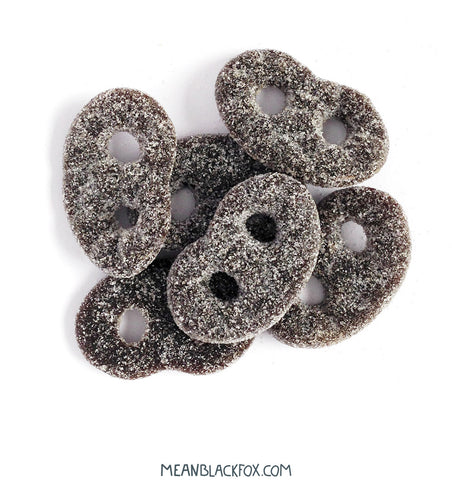 Salty Licorice Bretzels