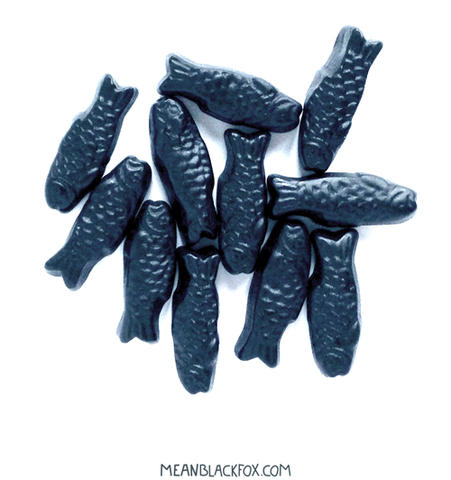 Salty Liquorice Fish
