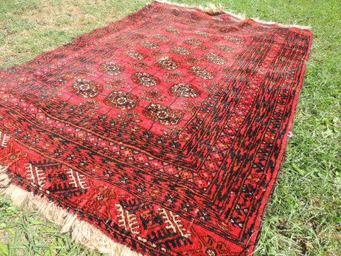 Antique Turkoman Rugs