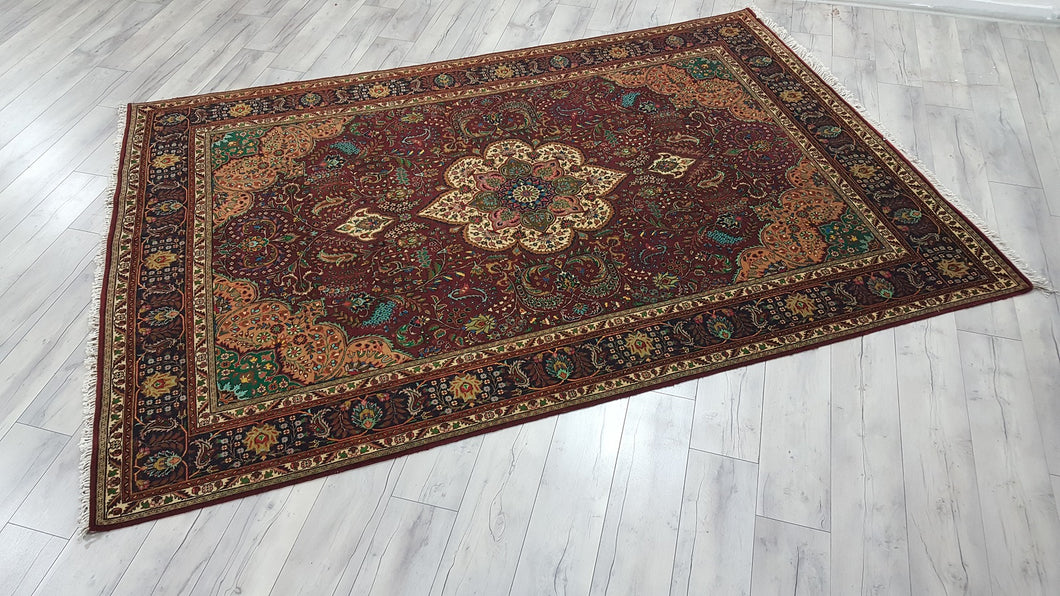 Persian Kashan Rug Extreme Quality Carpet 6,5x9,3 ft.