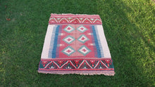Hybrid Turkish kilim rug - bosphorusrugs  - 2
