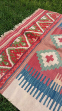 Hybrid Turkish kilim rug - bosphorusrugs  - 4