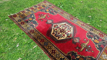 Wool Hand Knotted Tribal Anatolian Carpet