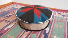 Cute Decorative Leather Pouf