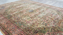 6,5x9,3 ft. Pastel and Light Green Colour Kayseri Rug