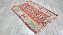 Handmade Turkish kilim rug