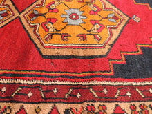 Unique Turkish Carpet with Mosque Motifs on Borders