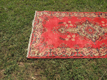 3x6 ft. Red Turkish Area Rug On CLEARENCE $149