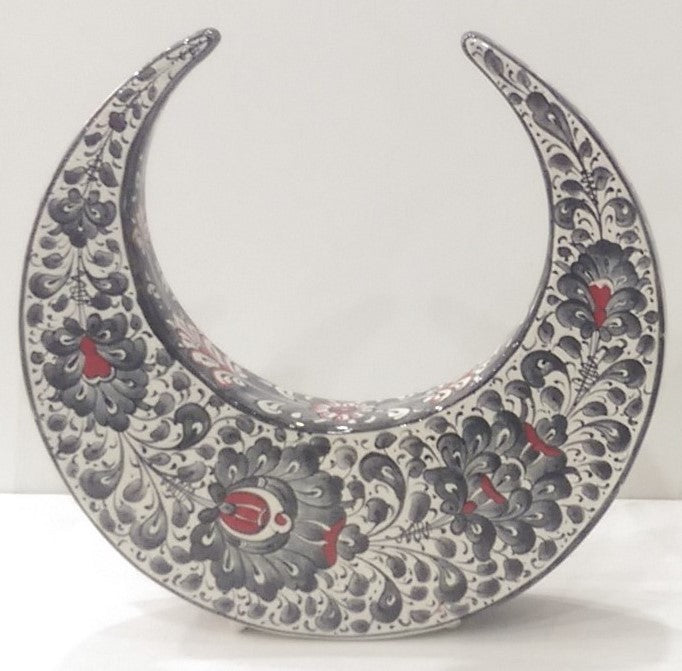 Ceramic Decorative Crescent SCR-004