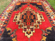 Turkish Area Rug with Lovely Sun Motifs