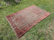 Persian Rug 4x7 Esfahan Carpet Muted Surface
