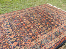 1970's Turkish Burdur Rug 4x7 ft. Carpet