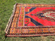 Anatolian Turkish Rug 4x8 ft. Red Background