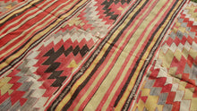 5x9 Large Turkish Kilim Rug ON SALE Because of Defect