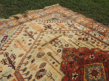 Turkish Milas Rug Earthy Colours 5,5x7,8 ft.