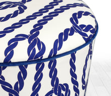 "Ottoman Pouf Cunda Rope 16,5"" x 16,5"" inches"