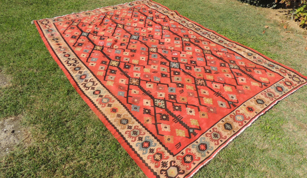 7x10 Balkan Kilim Clearence Price ONLY $499