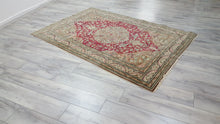 1970's Kayseri Bunyan Area Rug Luxury Carpet