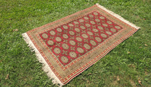 Turkish Kayseri Carpet With Bokhara Patterns - bosphorusrugs  - 1