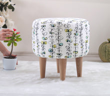 "Ottoman Pouf Eylul 15,7"" x 16,1"" inches"