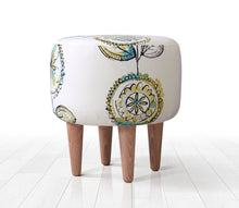 "Ottoman Pouf Harvest 15,7"" x 16,1"" inches"