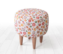 "Ottoman Pouf Bouquet 15,7"" x 16,1"" inches"