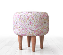 "Ottoman Pouf Pinky 15,7"" x 16,1"" inches"