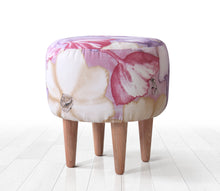 "Ottoman Pouf Incir 15,7"" x 16,1"" inches"