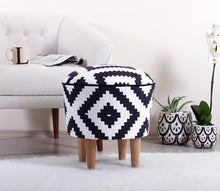 "Ottoman Pouf Louise 16,9"" x 16,9"" inches"