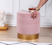 "Pouf Ottoman Memphis Baby Pink 15,7"" x 17,7"" inches"