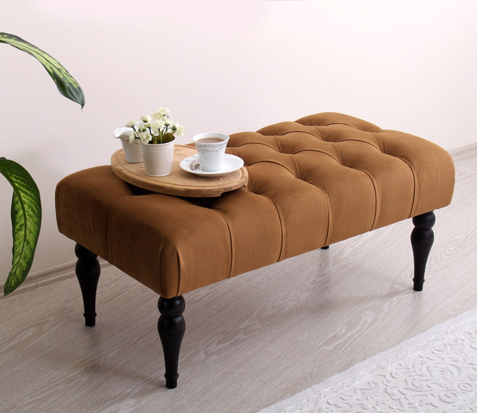 Tufted Bench Missus Copper 16,9