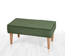 "Green Bench Velvet 31,4"" x 15,7"" x 16,1"" inches"