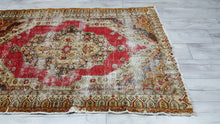 Amazing Turkish Area Rug Antique Muted Carpets