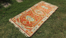 Very Rare Wool Turkish Carpet with Lovely Colors - bosphorusrugs  - 1