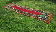 Turkish Runner Rug 4x12 ft. High Piled Wool Rug
