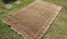 Antique Baluch Area Rug