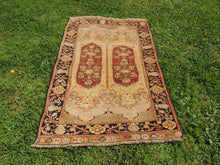 "Brown Turkish Carpet ""Maden"" - bosphorusrugs  - 3"