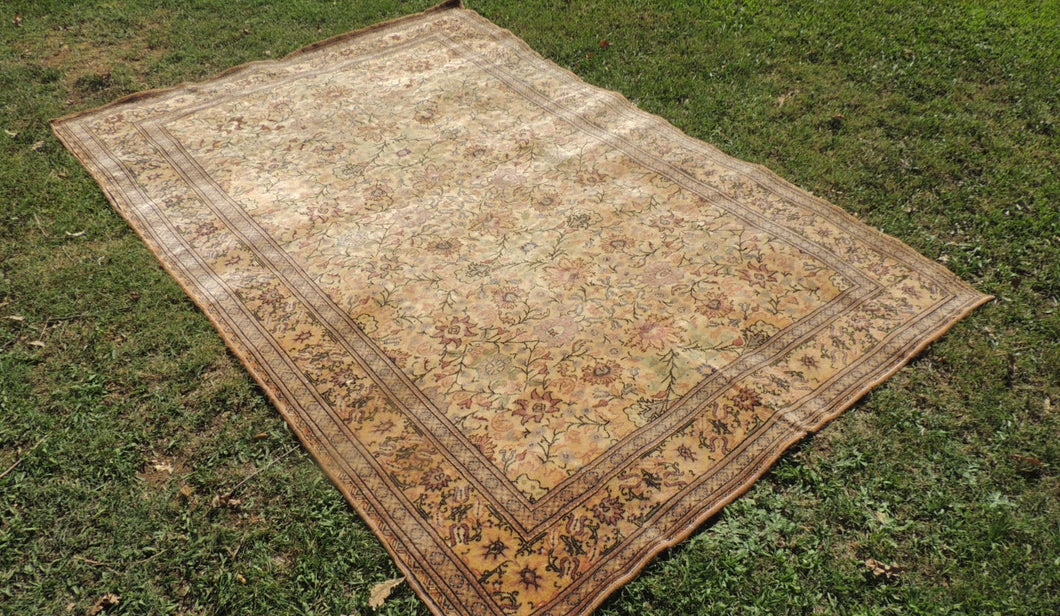 6x9 ft country decor turkish area rug