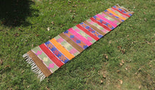 Bohemian Colorful Kilim Rug gypsy