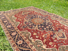 Medallion Turkish Kayseri area rug - bosphorusrugs  - 7