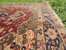 Medallion Turkish Kayseri area rug - bosphorusrugs  - 9