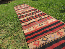 Turkish runner kilim Malatya - bosphorusrugs  - 5