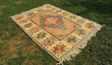 Large Turkish Nigde Kars Area Rug
