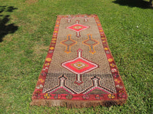 Vintage Turkish Kars carpet - bosphorusrugs  - 2