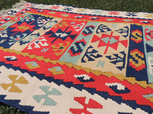 Silk Kayseri Kilim Rug - bosphorusrugs  - 7