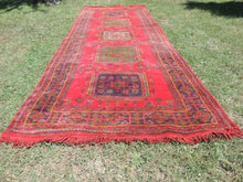 Red Turkish runner rug - bosphorusrugs  - 3