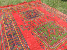 Red Turkish runner rug - bosphorusrugs  - 7