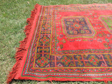 Red Turkish runner rug - bosphorusrugs  - 5